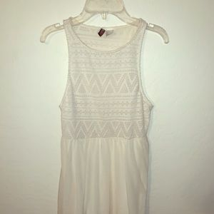 Divided crime tank dress size 4
